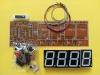 کیت ساعت دیجیتالی 2 با 7Seg قرمز رنگ سایز  3x4.4