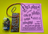 فلاشر 12 ولت 5 کاناله با خروجی ترانزیستور